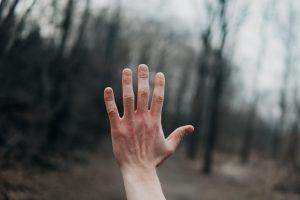 A full finger nail
